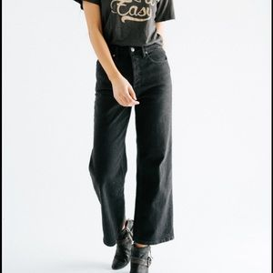 Free People Wales Wide Leg Jeans NWT